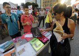 Lübnan'da halk pazarı