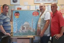 Ramazan'ın kardeşliği İtalyan ustaya ilham verdi