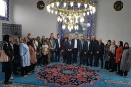 Alman Bakan Lucha, Eyüp Sultan Camii'ni ziyaret etti