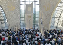 Köln DİTİB Merkez Camii'nde bayram coşkusu