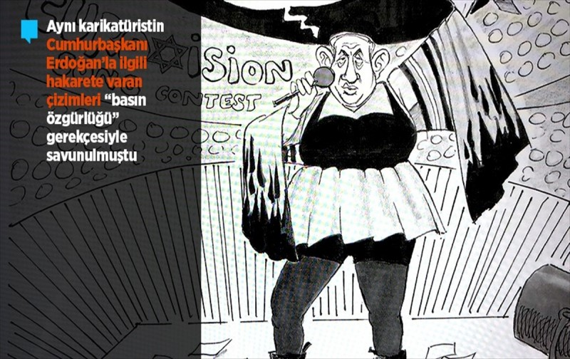 Almanya'da Netanyahu'yu çizen karikatürist işten kovuldu