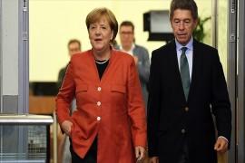 Almanya`da sandıktan Merkel çıktı