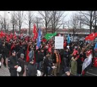 Almanya'da 'Teröre Karşı Birlik' yürüyüşü düzenlendi
