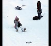 Ayder'de kayak keyfi