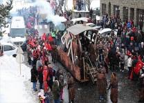 Belçika`nın Türk köyünde karnaval coşkusu