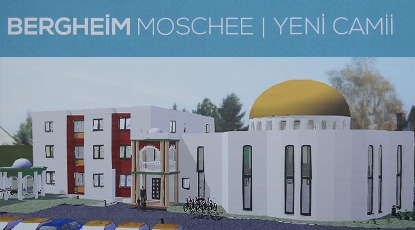 Bergheim Yeni Camii ve Kültür Merkezi'nin temeli atıldı