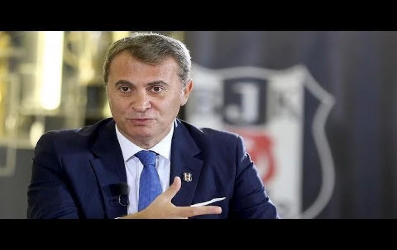 Beşiktaş Kulübü Başkanı Fikret Orman AA Spor Masası'nda soruları yanıtladı