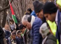 Beyaz Saray önünde Kudüs protestosu