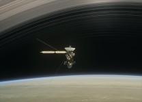 Cassini Satürn`e en yakın geçişini yaptı