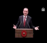 Cumhurbaşkanı Erdoğan: Senin her yerin yaptırım olsa ne yazar?