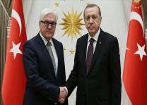 Cumhurbaşkanı Erdoğan Steinmeier ile görüştü