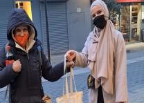 """DİTİB gençlerinden """"Soğuk Bir Günde, Sıcak Bir Yardım"""" kampanyası"""