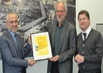 DİTİB Sosyal Dayanışma Merkezi'ne Deutsche Post'tan özel sertifika