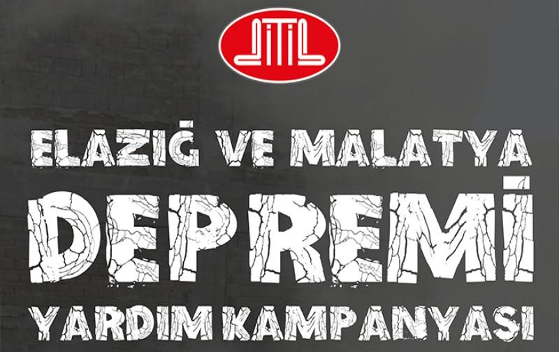 Elazığ ve Malatya depremi için yardım kampanyası