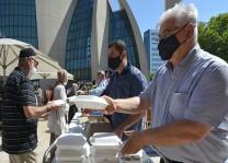 DİTİB'den Kurban Bayramı'na özgü geleneksel kavurma ikramı