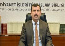 DİTİB Genel Başkanı Kazım Türkmen'in Ramazan Bayramı Mesajı