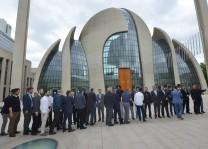 Başkan Aşıkoğlu, DİTİB personeli ile bayramlaştı