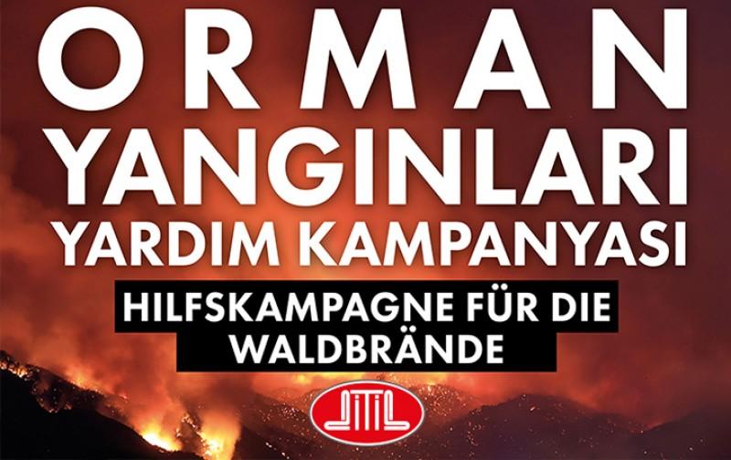 Türkiye'de yanan ormanlar için DİTİB yardım kampanyası başlattı