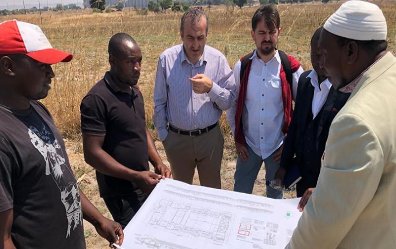 DİTİB, Zimbabve'ye yetimhane ve külliye inşa ediyor