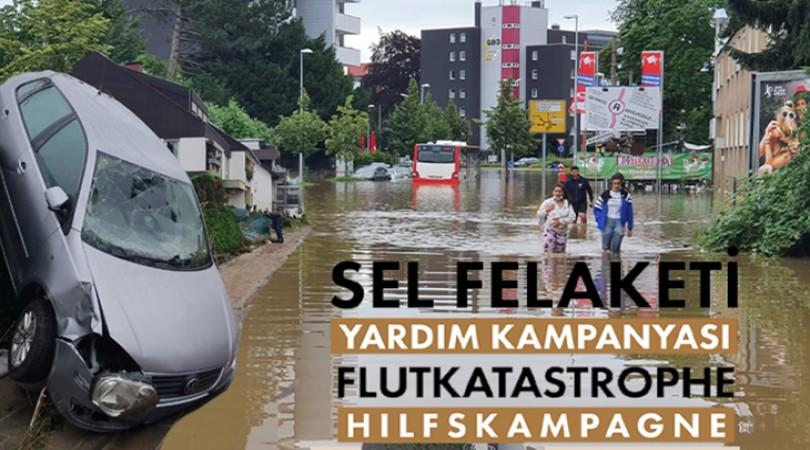 DİTİB teşkilatı sel felaketi mağdurları için yardım kampanyası başlattı