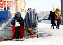 Dondurucu soğukta hayat mücadelesi