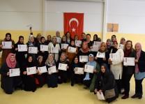 DİTİB'li kadınlar bilgisayar sertifikası aldı