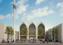 Feuerbach Yeni Camii ve Külliyesi'nin proje tanıtımı yapıldı