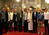 DİTİB camisine yerel yetkililerden ziyaret