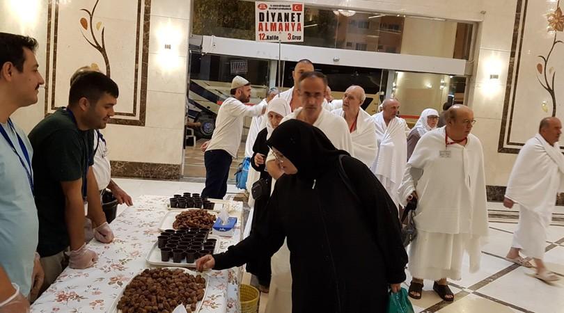 DİTİB'in ilk hac kafilesi Mekke'ye ulaştı