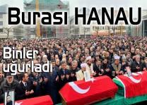 Hanau katliamında yürekler yandı