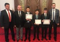 Dini bilgiler ve hutbe yarışmalarının Almanya birincileri belirlendi
