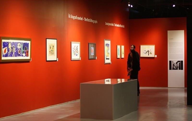 Joan Miró Litografi ve Gravür sergisi sanatseverleri bekliyor