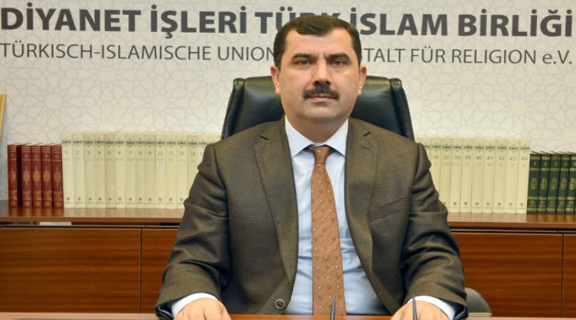 """DİTİB Genel Başkanı Türkmen'den """"Regaib Kandili ve Üç Aylar"""" mesajı"""