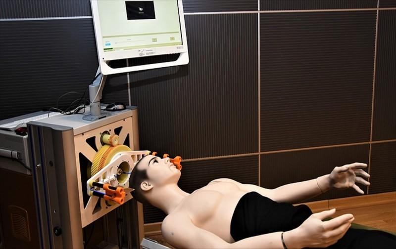 KASK`la beyin hasarları ambulansta tespit edilebilecek