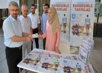 """DİTİB'de """"Vekâlet Yoluyla Kurban Kampanyası"""" bağış standı açıldı"""