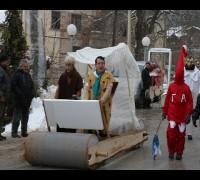 Makedonya'da renkli Vevçani Karnavalı