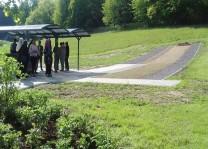 Merzig şehrinde Müslüman mezarlığı açıldı