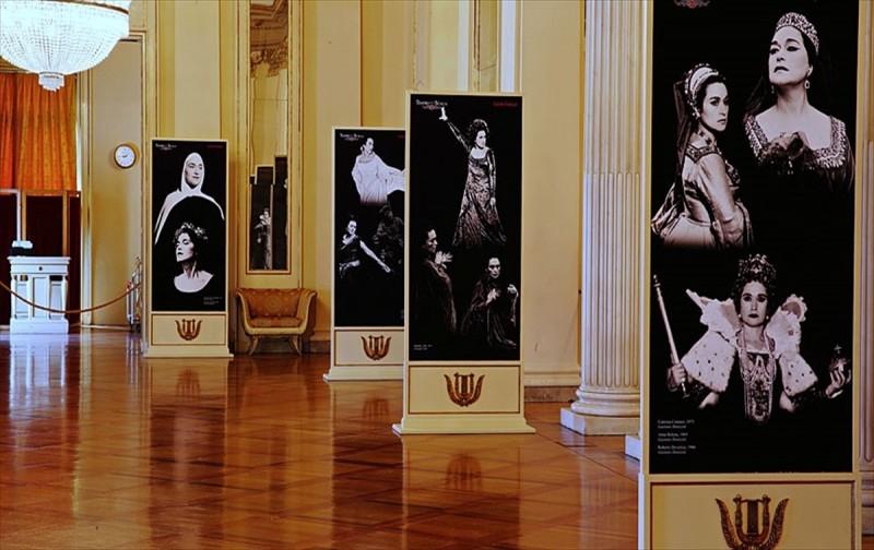 Milano`da Leyla Gencer`in anısına fotoğraf sergisi açıldı