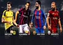 Milli futbolcular Avrupa'nın dört bir yanında