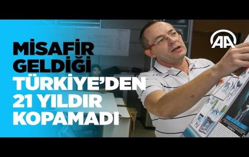 Misafir geldiği Türkiye'den 21 yıldır kopamadı