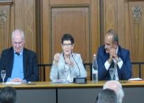 Rita SüssmuthDuisburg'ta tecrübelerini anlattı