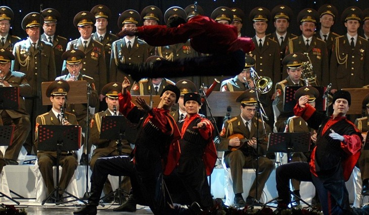 Rus Kızıl Ordu Korosu, İstanbulda konser verecek 7