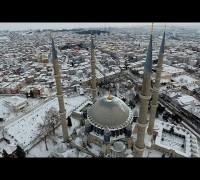 Selimiye Camii havadan görüntülendi