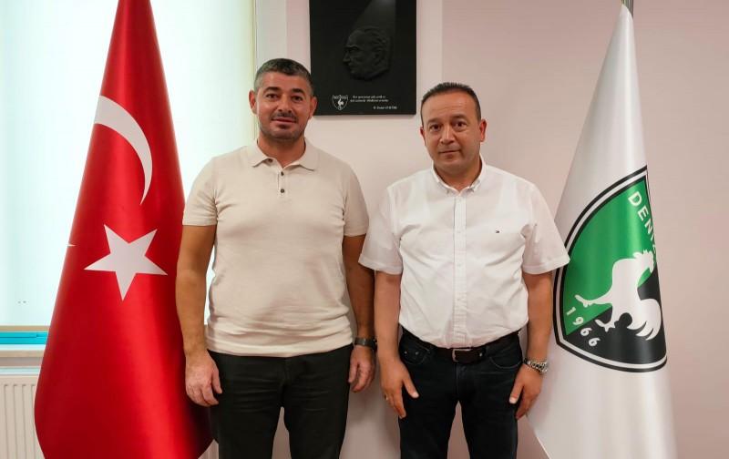 Denizlispor'un yönetiminde Almanya'dan Ali İnceören yer aldı