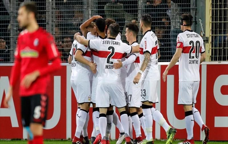 Stuttgart, Tayfun Korkut ile yenilmezlik serisini sürdürdü