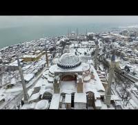 Sultanahmet Camii ve Ayasofya Müzesi havadan görüntülendi