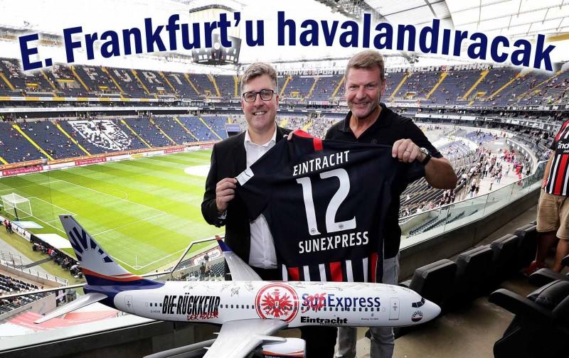 Eintracht Frankfurt'un hamisi SunExpress