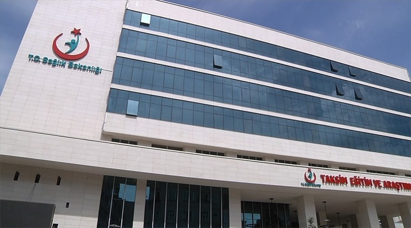 Taksim'e otel konforunda hastane