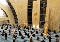 Ramazanın ilk teravih namazı eda edildi