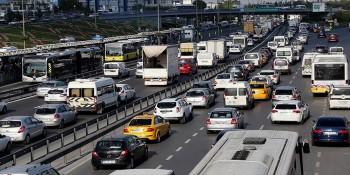 Türkiye trafik sıkışıklığında dünyada ilk 10 da